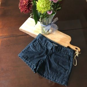 LOFT Dark denim Riviera Short